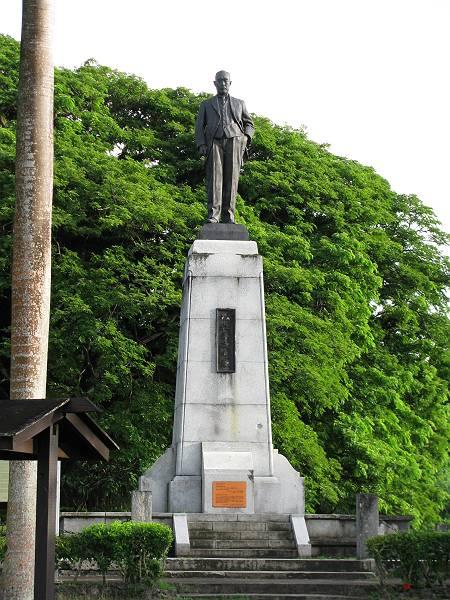砂糖王銅像